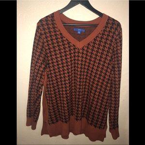 New Apt. 9 Chevron sweater